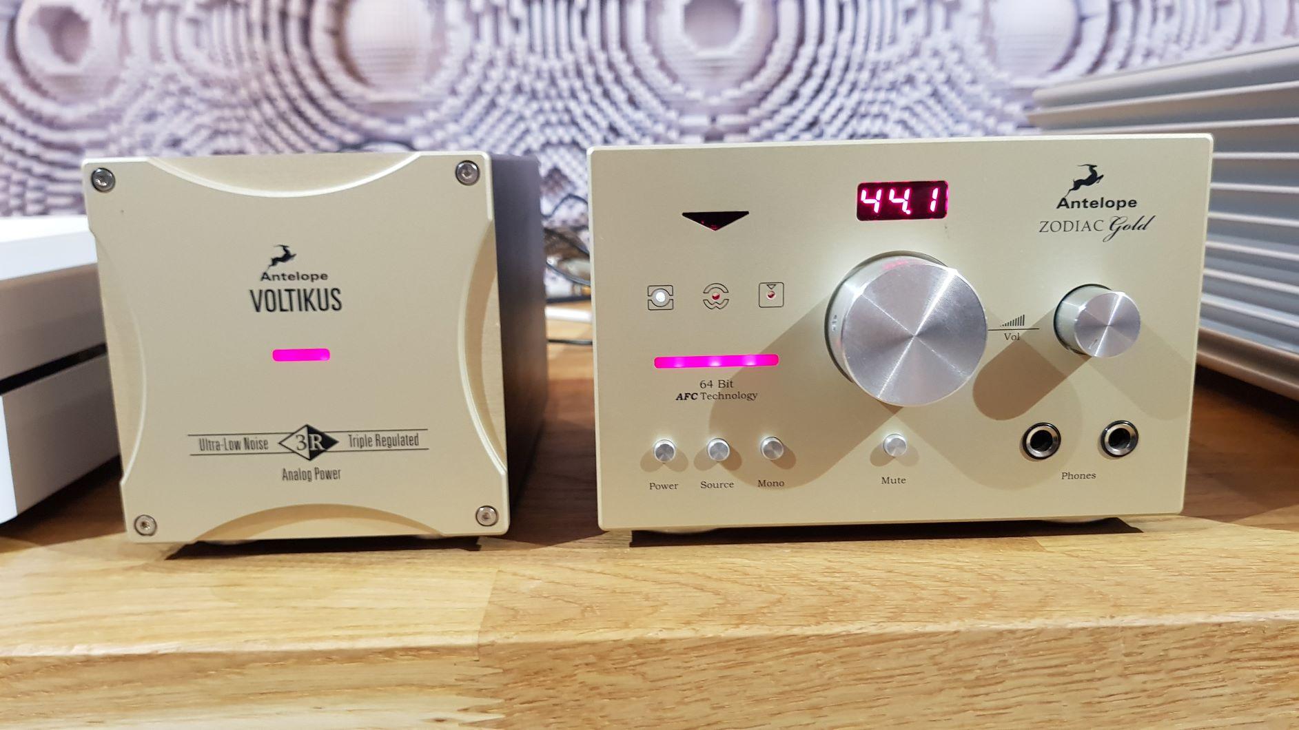 Antelope Audio Zodiac Gold+Voltikus dac + pre